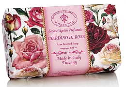 Düfte, Parfümerie und Kosmetik Naturseife Rose - Saponificio Artigianale Fiorentino Rose Garden Scented Soap Armonia Collection