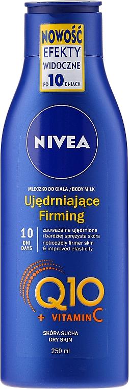 Straffende Körperlotion mit Coenzym Q10 und Vitamin C - Nivea Q10 + Vitamin C Body Lotion