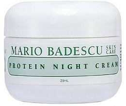 Düfte, Parfümerie und Kosmetik Glättende Nachtcreme mit Protein - Mario Badescu Protein Night Cream