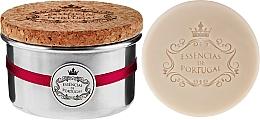 Düfte, Parfümerie und Kosmetik Naturseifen Red Fruits in Schmuck-Box - Essencias De Portugal Aluminum Jewel-Keeper Red Fruits Soap Tradition Collection