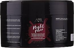 Düfte, Parfümerie und Kosmetik Peeling für Körper, Hände und Füße mit Rohrzucker - Apis Professional Night Fever