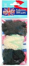 Düfte, Parfümerie und Kosmetik Haarnetz 12 St. - Ronney Professional 3222/MIX/12