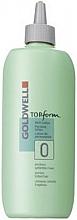Düfte, Parfümerie und Kosmetik Well-Lotion für schwer wellbares Naturhaar - Goldwell Topform 0