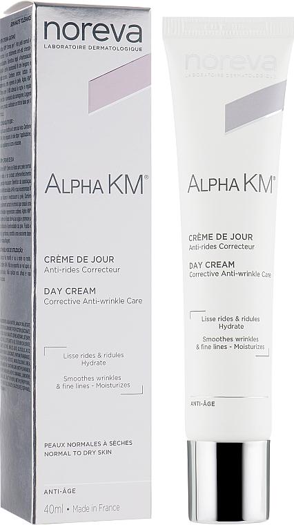 Korrigierende Anti-Aging Gesichtscreme für normale bis trockene Haut - Noreva Laboratoires Alpha KM Corrective Anti-Ageing Treatment Normal To Dry Skins