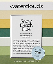 Düfte, Parfümerie und Kosmetik Aufhellungspulver Blue - Waterclouds Snow Bleach Blue