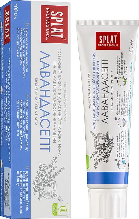 Schützende Zahnpasta mit Lavendel-, Thymian- und Rosamrinöl - SPLAT