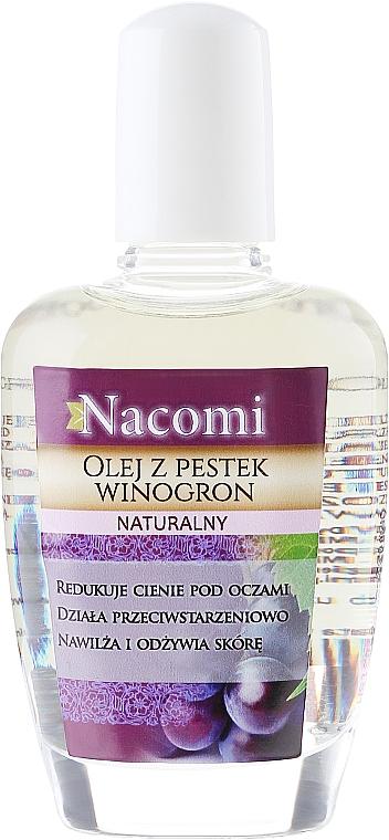 Gesichts- und Körperöl mit Traubenkernen - Nacomi Natural