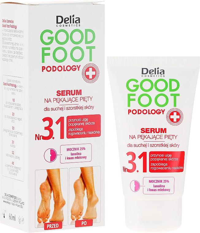 Feuchtigkeitsspendendes Serum und Fußregeneration - Delia Good Foot