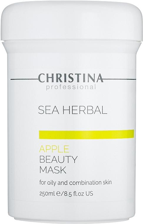 Schönheitsmaske Apfel für fettige und Mischhaut. - Christina Sea Herbal Beauty Mask Green Apple — Bild N3