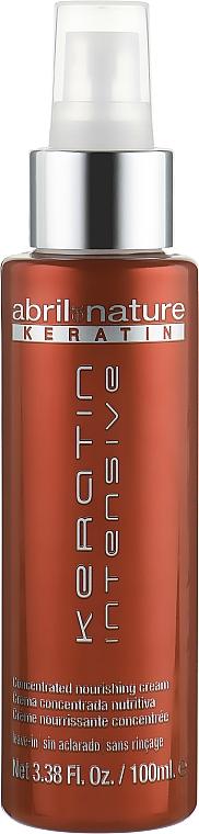 Konzentrierte und pflegende Haarcreme mit Keratin ohne Ausspülen - Abril et Nature Keratin Intensive Concentrated Nourishing Cream
