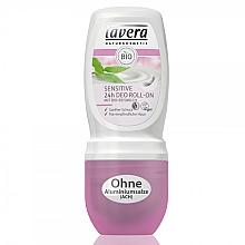 Düfte, Parfümerie und Kosmetik Deo Roll-On Antitranspirant für empfindliche Haut - Lavera Sensitive 24h Deo Roll-On