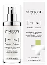 Düfte, Parfümerie und Kosmetik Straffendes und pflegendes Lifting-Serum für die Augenpartie mit Präbiotika und Retinoiden - Symbiosis London Invigorating & Resurfacing Eye Contour