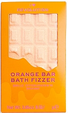 "Düfte, Parfümerie und Kosmetik Badebombe Orange - I Heart Revolution Chocolate Bar Bath Fizzer ""Orange"""