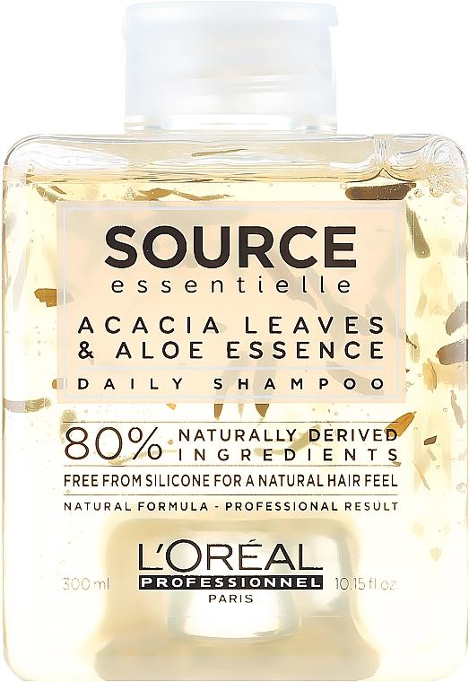 Mildes Basis-Shampoo für alle Haartypen - L'Oreal Professionnel Source Essentielle Daily Shampoo