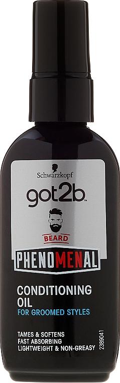 Bartpflegeöl - Schwarzkopf Got2b Phenomenal Beard Conditioning Oil