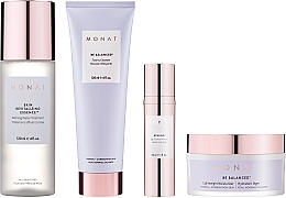 Düfte, Parfümerie und Kosmetik Zestaw - Monat Be Balanced (cr/45ml + foam/120ml + ser/30ml + essence/120ml)