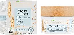 Düfte, Parfümerie und Kosmetik Feuchtigkeitsspendende Gesichtscreme mit Hafer, Weizen und Kokosmilch - Bielenda Vegan Muesli Face Cream