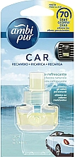 Düfte, Parfümerie und Kosmetik Nachfüller für Auto-Lufterfrischer Refreshing Stream - Ambi Pur Air Freshener Refill Refreshing Stream