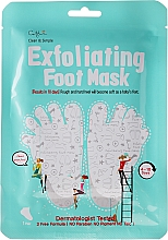 Düfte, Parfümerie und Kosmetik Fußmaske mit Peelingeffekt - Cettua Exfoliating Foot Mask