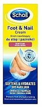 Düfte, Parfümerie und Kosmetik Fußcreme - Scholl Moisturizing Foot and Nail Cream