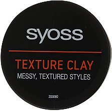 Düfte, Parfümerie und Kosmetik Styling-Tonerde mit Matt-Effekt und extra starkem Halt - Syoss Texture Clay