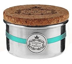 Düfte, Parfümerie und Kosmetik Naturseifen Violet Scrub in Schmuck-Box - Essencias De Portugal Aluminum Jewel-Keeper Violet Scrub Tradition Collection