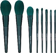Düfte, Parfümerie und Kosmetik Make-up Pinselset - Eigshow Beauty Jade Green Brush Kit With Box
