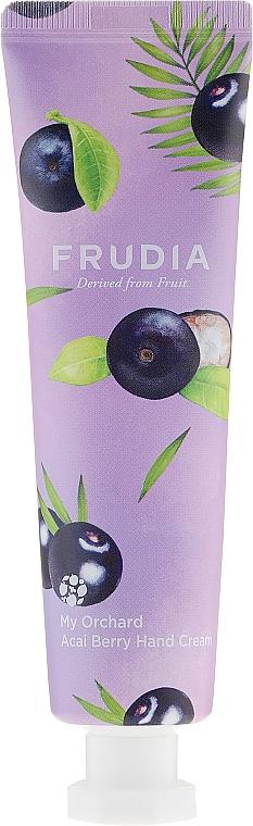 Feuchtigkeitsspendende Handcreme mit Acai-Beeren - Frudia My Orchard Acai Berry Hand Cream