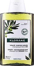 Düfte, Parfümerie und Kosmetik Vitalisierendes Shampoo mit Olive für schwaches Haar - Klorane Vitality Age-Weakened Organic Olive Hair Shampoo