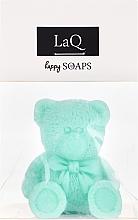Düfte, Parfümerie und Kosmetik Handgemachte Naturseife Kleiner Bär mit Kiwiduft - LaQ Happy Soaps Natural Soap