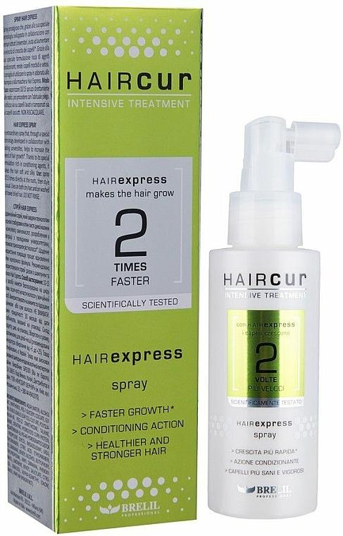 Haarwuchs stimulierendes und kräftigendes Spray - Brelil Hair Cur HairExpress Spray