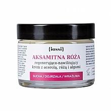 Düfte, Parfümerie und Kosmetik Regenerierende und feuchtigkeitsspendende Gesichtscreme mit Acerola, Rose und Algen - Iossi Regenerating Cream (Mini)