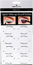 Düfte, Parfümerie und Kosmetik Augenbrauen-Schablonen 36705 - Top Choice