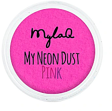 Düfte, Parfümerie und Kosmetik Nagelpuder rosa - MylaQ My Neon Dust
