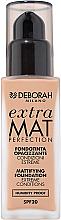 Düfte, Parfümerie und Kosmetik Mattierende Foundation LSF 20 - Deborah Extra Mat Perfection SPF20