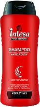 Düfte, Parfümerie und Kosmetik Keratin Shampoo gegen Haarausfall - Intesa Classic Black Shampoo Loss Prevention