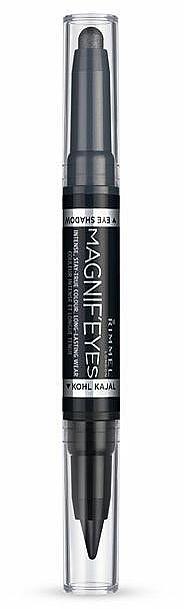 Lidschatten und Eyeliner - Rimmel Magnif Eyes Eye Shadow And Kohl Kajal