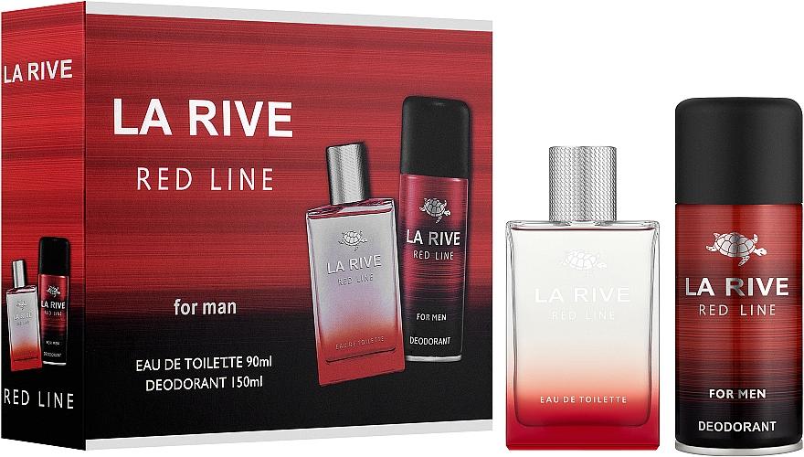 La Rive Red Line - Duftset (Eau de Toilette 100ml + Deodorant 150ml)