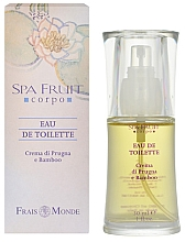 Düfte, Parfümerie und Kosmetik Frais Monde Spa Fruit Plum And Bamboo - Eau de Toilette