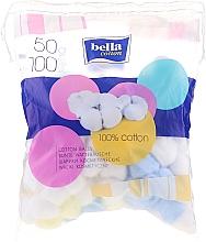 Düfte, Parfümerie und Kosmetik Bunte Wattebäusche 100 St. - Bella Cotton Balls