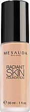 Düfte, Parfümerie und Kosmetik Foundation mit Hyaluronsäure - Mesauda Milano Radiant Skin Foundation