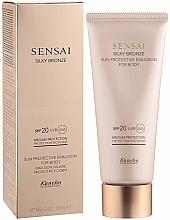 Düfte, Parfümerie und Kosmetik Sonnenschutzemulsion für den Körper SPF 20 - Kanebo Sensai Silky Bronze Sun Protective Emulsion For Body SPF 20