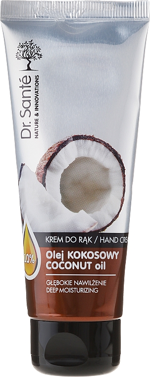 Feuchtigkeitsspendende Handcreme - Dr. Sante Hand Cream Coconut Oil