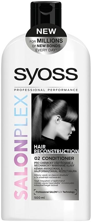 Haarspülung für schwaches und zerbrechliches Haar - Syoss SalonPlex Hair Conditioner