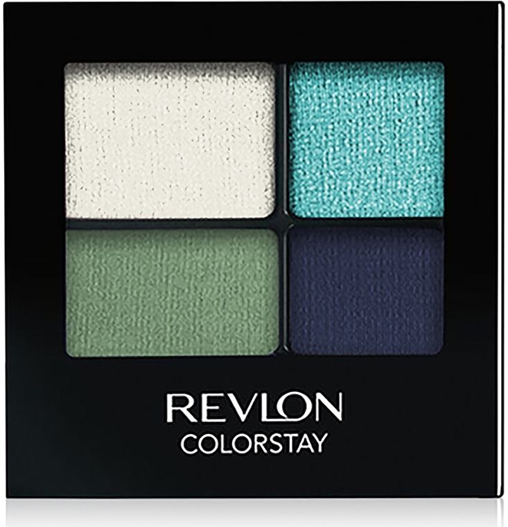 Langanhaltender Lidschatten - Revlon Colorstay 16 Hour Eyeshadow Quad