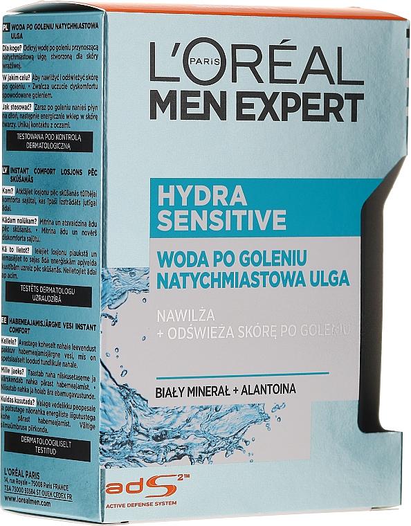 After Shave für empfindliche Haut - L'Oreal Paris Men Expert New