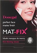 Düfte, Parfümerie und Kosmetik Mattierendes Spezialpapier für das Gesicht - Donegal Face Blotting Tissues Mat-Fix