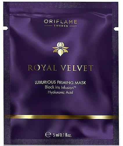 Straffende Gesichtsmaske mit Hyaluronsäure - Oriflame Royal Velvet Firming Face Mask