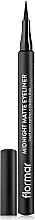 Düfte, Parfümerie und Kosmetik Matter Eyeliner - Flormar Midnight Matte Eyeliner