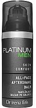 Düfte, Parfümerie und Kosmetik Feuchtigkeitsspendender After Shave Balsam - Dr Irena Eris Platinum Men Skin Comfort Aftershave Balm